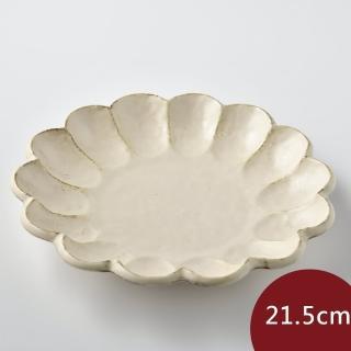 【Tojiki Tonya】美濃下石 KIKKA 花盤 餐盤 21.5cm