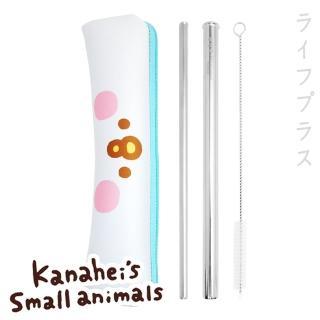 【卡娜赫拉】卡娜赫拉的小動物-不鏽鋼吸管三件組(買一送一)