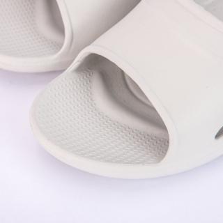 【生活工場】【618品牌週】Q彈氣墊家居拖鞋 灰