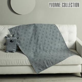 【Yvonne Collection】馴鹿背包萬用毯(兩色)