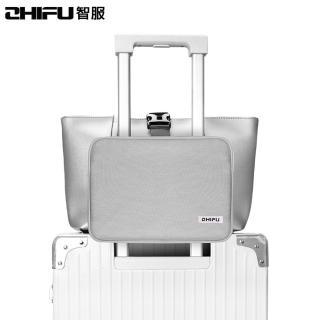 【ZHIFU 智服】行李斜跨包-灰色 博林代理公司貨(行李包 固定包 斜跨包 小包)