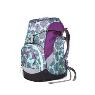 【大將作】德國 Ergobag S 基本款書包-紫色薄荷葉(兒童成長護脊書包)