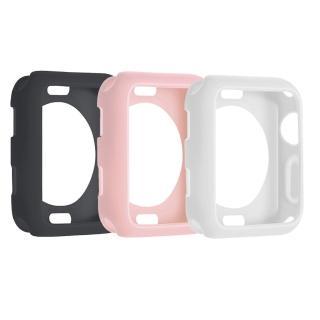 Apple Watch 4/5代 40mm 防摔邊框矽膠保護套