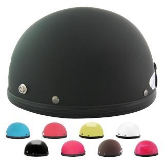 【T-MAO】素色 多色可選 男女通用 碗公帽(安全帽│機車│鏡片│內襯│鏡片│3/4罩│GOGORO E1)