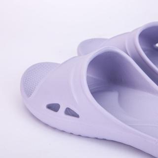 【生活工場】【618品牌週】Q彈氣墊家居拖鞋 紫