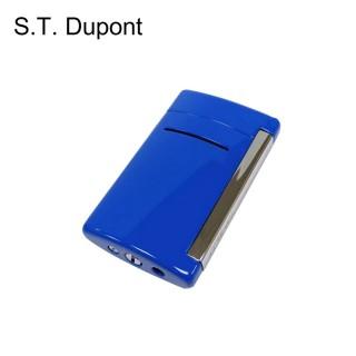 【S.T.Dupont 都彭】MINIJET系列輕薄防風噴射打火機/海藍色(10038)
