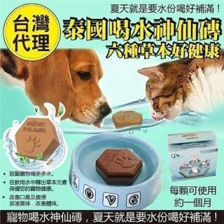 【泰國寵物喝水神仙磚】淨水神仙磚 8.8oz(加購價)