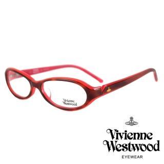 【Vivienne Westwood】經典土星款光學眼鏡(紅 VW132_04)