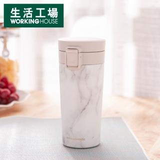 【生活工場】暖心不鏽鋼陶瓷保溫杯380ml