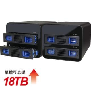 【伽利略】Type-C USB3.1 Gen2 2層抽取式 RAID 鋁合金(35D-U322RM)