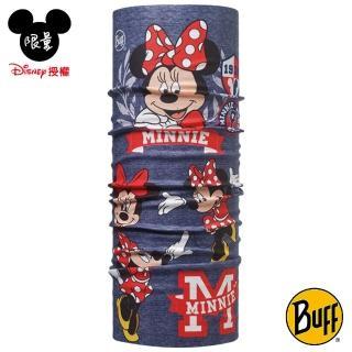 【BUFF】魔術頭巾 迪士尼授權 派對米妮 BF113270-788-10(4-12歲孩童/防曬/抗菌/吸濕速乾/Disney/Minnie)