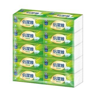 【PASEO 倍潔雅】柔軟舒適抽取式衛生紙150抽x60包/箱
