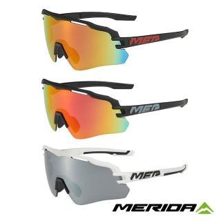 【MERIDA 美利達】自行車Race護目鏡 三色(太陽眼鏡/墨鏡/抗UV/路跑/單車/自行車)