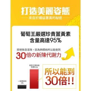 【葡萄王】增量優惠版-孅益薑黃100粒X4瓶  共400粒(95%高含量薑黃  輕鬆甩囤積)
