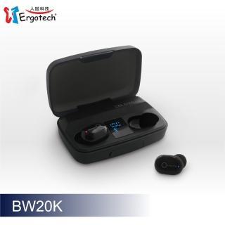 【Ergotech 人因科技】人因BW20 超輕3.8克大電量真無線藍牙耳機(真無線藍芽耳機)