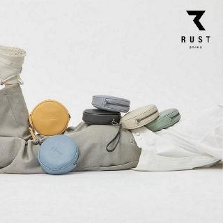 【Bliss BKK】泰國 Rust brand 圓形斜背包 Round 6色可選 贈送原廠防塵袋(可肩背 可手拿 現貨供應中)