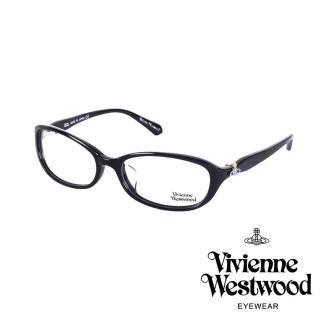 【Vivienne Westwood】經典土星環光學眼鏡(黑 VW263_01)