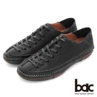 【bac】陽光型男 帥氣造型休閒鞋(黑色)