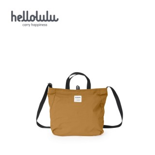 【hellolulu】JOLIE 雙面斜背包 S-焦糖咖/深灰(50237-151)
