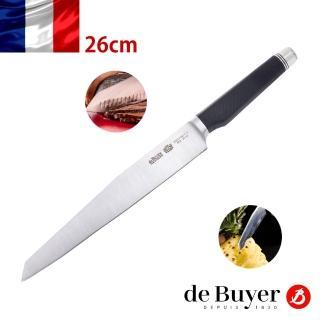 【de Buyer 畢耶】『FK2碳纖系列』西式片肉刀26cm