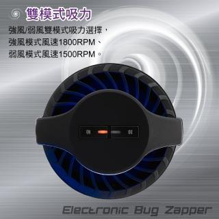 【大家源】福利品 多頻譜高效吸入式捕蚊器/捕蚊燈(TCY-6311)