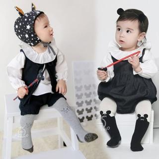 【橘魔法】灰色貓咪.黑白老鼠可愛褲襪 S有字體防滑膠(M號沒有防滑膠 Baby magic 兒褲襪 童裝)