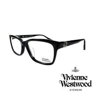 【Vivienne Westwood】金屬立體土星光學眼鏡(黑 VW319_01)