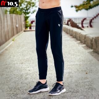 【N10.5】針織彈力透氣速乾運動休閒束口長褲 N20J25109-99(針織男運動長褲)