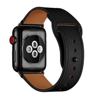 【Promate】Apple Watch 38/40 mm 經典真皮錶帶(Genio)