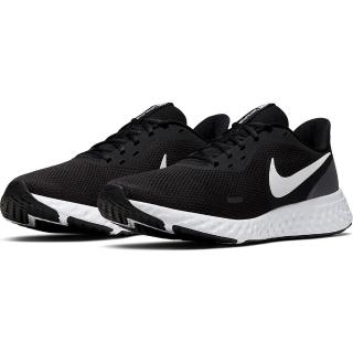 【NIKE 耐吉】REVOLUTION 5  男鞋  輕量 避震 慢跑 路跑 運動鞋   黑  BQ3204002