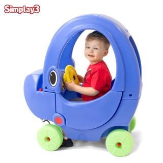 【美國Simplay3】大象嘟嘟車(角色扮演必備腳行車)