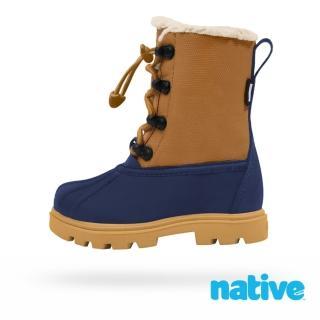 【native】小童鞋 JIMMY 3.0 小獵鴨靴(大地棕x藍)