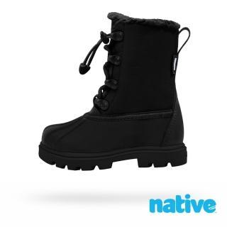【native】大童鞋 JIMMY 3.0 小獵鴨靴(時尚黑)