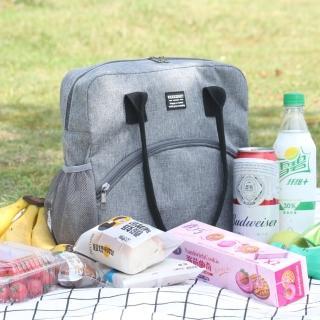 【WEEKEIGHT】大容量豪華耐磨防潑水加厚保溫袋/保冰袋/野餐袋