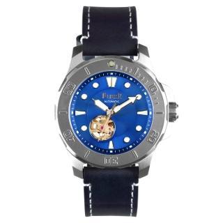 【FIBER 法柏】海洋潛將系列 機械潛水錶 鏤空藍