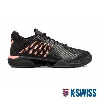 【K-SWISS】輕量 進階網球鞋 Hypercourt Supreme-男-黑/橘(06615-023)