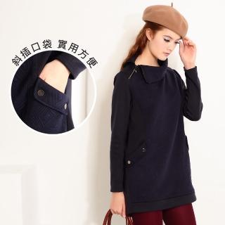 【ACheter】歐風寬鬆顯瘦舒適上衣101360現貨(藍)
