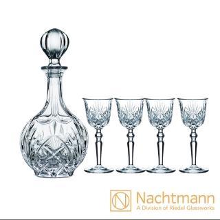 【Nachtmann】炫麗宮廷甜酒壺組(1壺+4杯)
