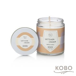 【KOBO】美國大豆精油蠟燭 - 香根琥珀(170g/可燃燒 35hr)