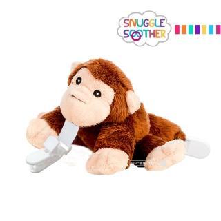 【Snuggle】安撫絨毛玩偶娃娃(奶嘴夾-俏皮猴)