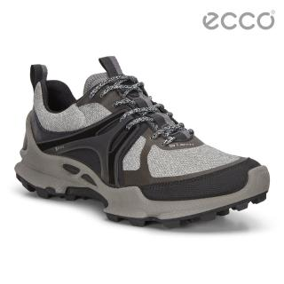 【ecco】BIOM C-TRAIL W 縱橫越野健步運動鞋 女(暖灰/黑 80312356601)
