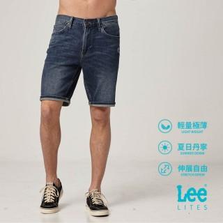 【Lee】牛仔短褲(男牛仔短褲)
