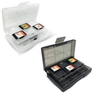【Nintendo 任天堂】副廠 專屬遊戲片/記憶卡24入收納盒