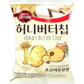 【HAITAI  海太】蜂蜜奶油洋芋片-起士風味(60g)