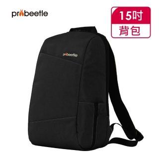 【Probeetle 波比多】15吋 日系休閒後背包(黑色)