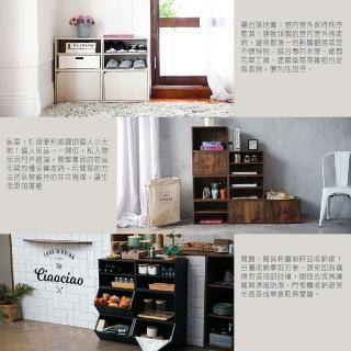 【MAMORU】DIY 耐重組合3入組-空櫃-層櫃-木門櫃-玩具櫃(收納櫃)