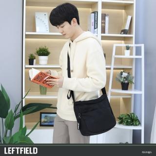 【LEFTFIELD】韓國大容量帆布側背郵差包 NO.LF348(男側背包)