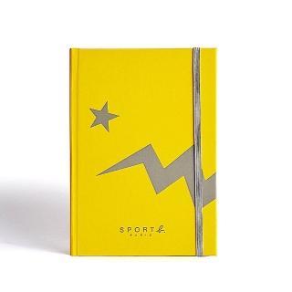 【agnes b.】Sport b.黃色恐龍空白筆記本