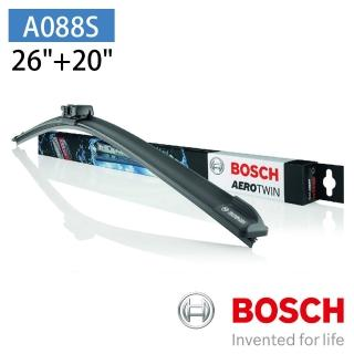 【BOSCH 博世】AERO TWIN A088S 26+20吋 專用軟骨雨刷