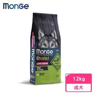 【monge 瑪恩吉】BWILD真野低穀-成犬配方(山豬肉)12kg